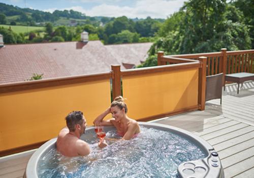 Wookey Hole Mendip View Luxury Lodges