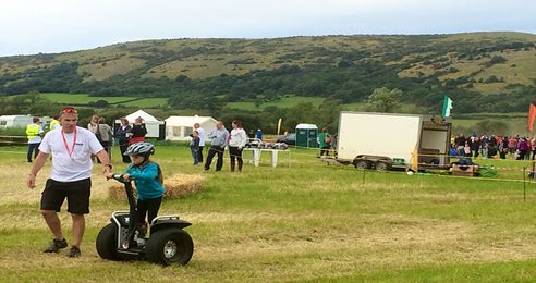 YMCA Family Festival with Mower Racing